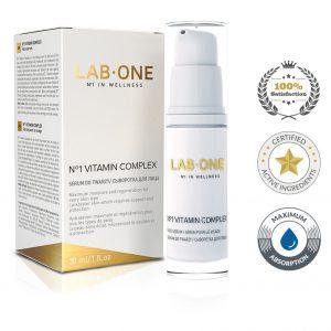 vitamin complex lab one odżywka serum do twarzy
