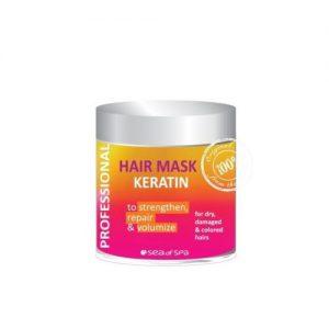 profesjonalna maska do włosów z keratyną