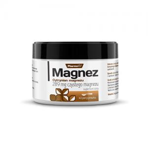 magnez cytrynian magnezu proszek 100 g pharmovit