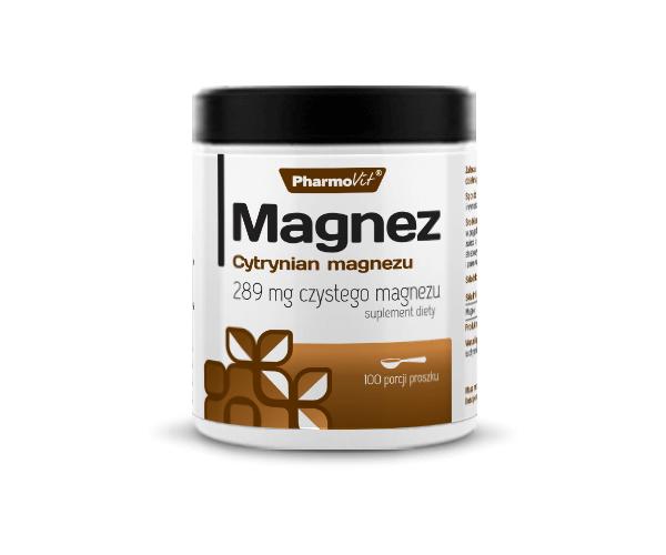 magnez cytrynian proszek 250g pharmovit