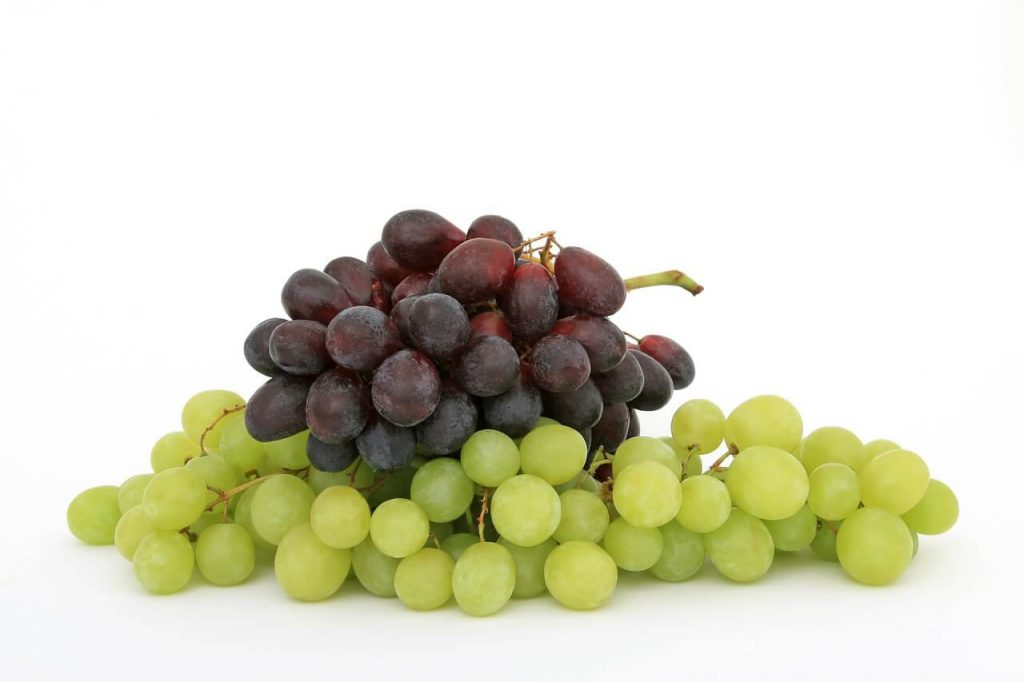 winogrona właściwości witaminy